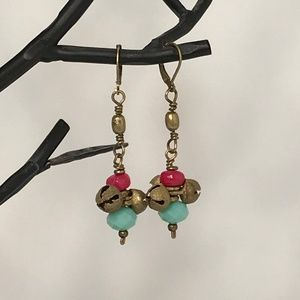 NWT Summer Handcrafted Bohemian Stone & Br…